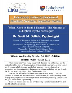 LIPSS Speaker Series - October Session