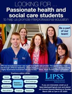 LIPSS Recruitment Poster
